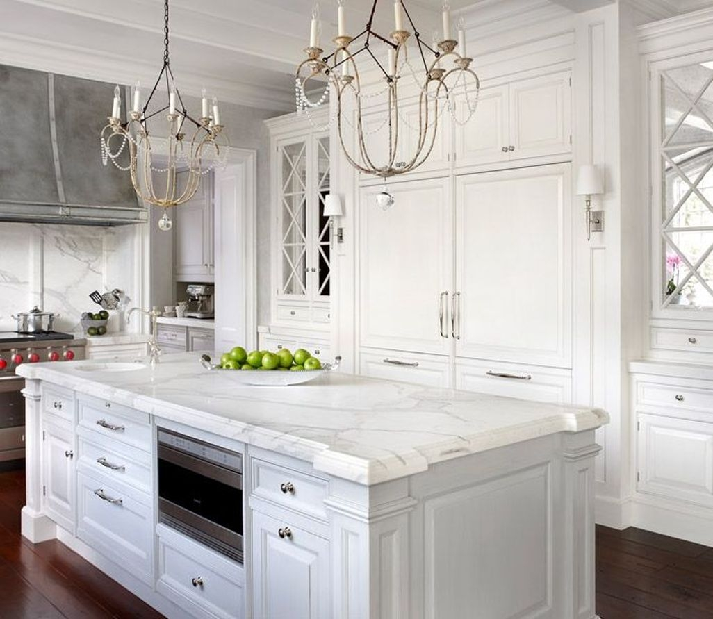 Top Of Kitchen Cabinet Decorating Ideas: 42 Best White Kitchen Cabinet Design Ideas