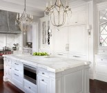 Best White Kitchen Cabinet Design Ideas 33