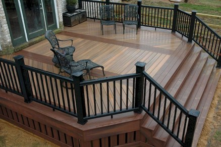 Cozy Backyard Patio Deck Design Decoration Ideas 03