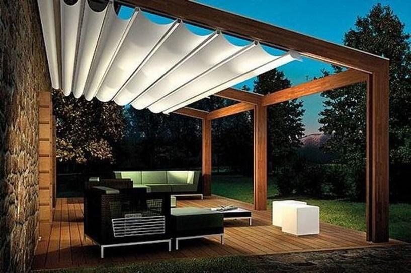 Cozy Backyard Patio Deck Design Decoration Ideas 14