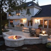 Cozy Backyard Patio Deck Design Decoration Ideas 32