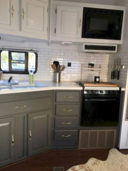 Creative Small Rv Kitchen Design Ideas 19