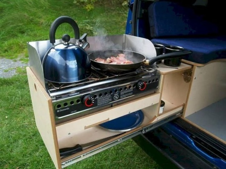 Creative Small Rv Kitchen Design Ideas 24
