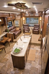 Creative Small Rv Kitchen Design Ideas 26