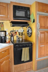 Creative Small Rv Kitchen Design Ideas 34