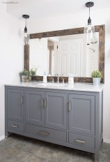 Fresh Rustic Farmhouse Master Bathroom Remodel Ideas 08
