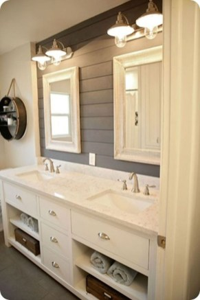 Fresh Rustic Farmhouse Master Bathroom Remodel Ideas 09
