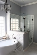 Fresh Rustic Farmhouse Master Bathroom Remodel Ideas 15