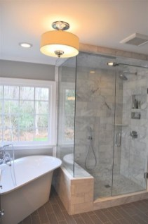 Fresh Rustic Farmhouse Master Bathroom Remodel Ideas 38