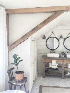 Fresh Rustic Farmhouse Master Bathroom Remodel Ideas 39