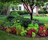 Stunning Front Yard Walkway Landscaping Design Ideas 37