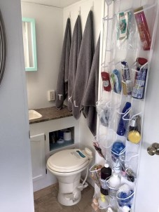 Totally Inspiring Rv Bathroom Remodel Organization Ideas 25