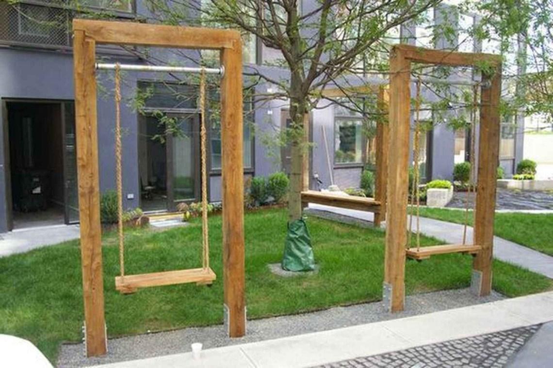 01 Awesome Garden Swing Seats Ideas For Backyard Relaxing
