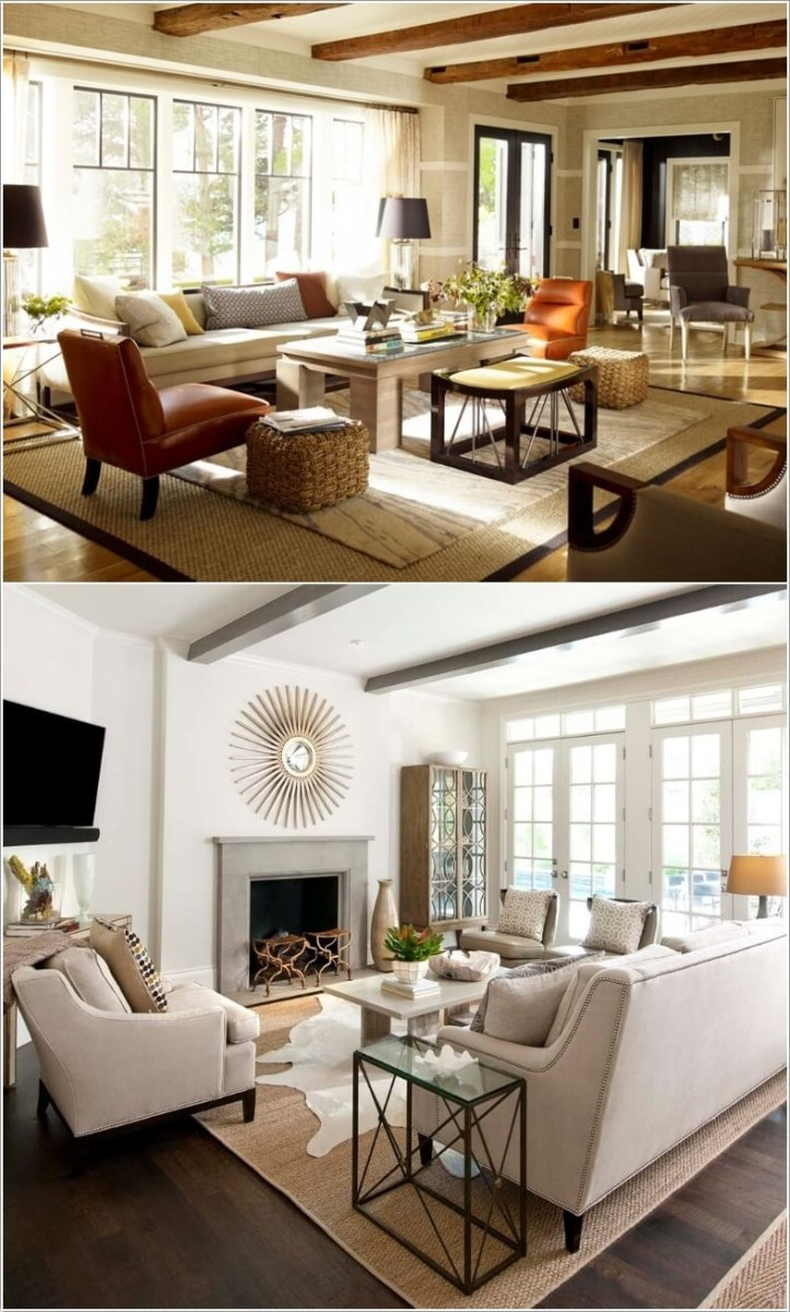 10 Ideas To Decorate Your Home With Jute Rugs