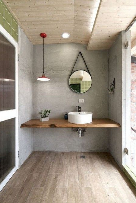 10 Lighting Designs For Your Industrial Bathroom