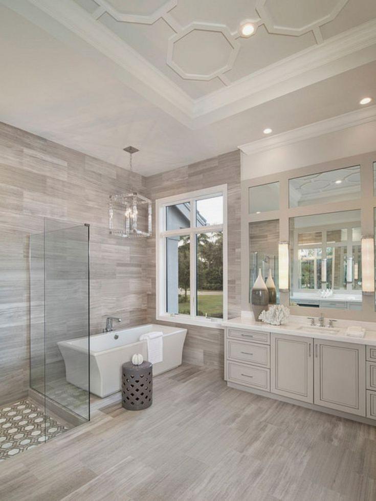 10 Wonderful Diy Master Bathroom Ideas Remodel On A