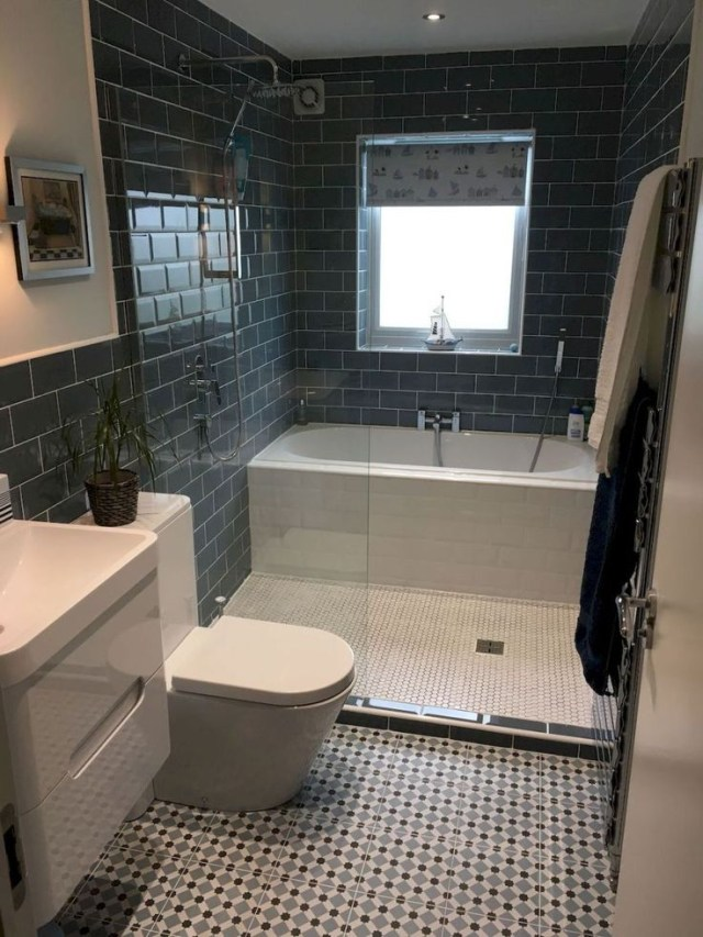 111 Awesome Small Bathroom Remodel Ideas On A Budget 19