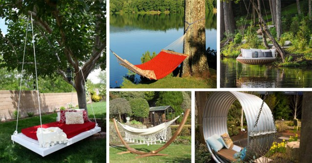 14 Backyard Hammock Ideas Adding Cozy Accent To Outdoor
