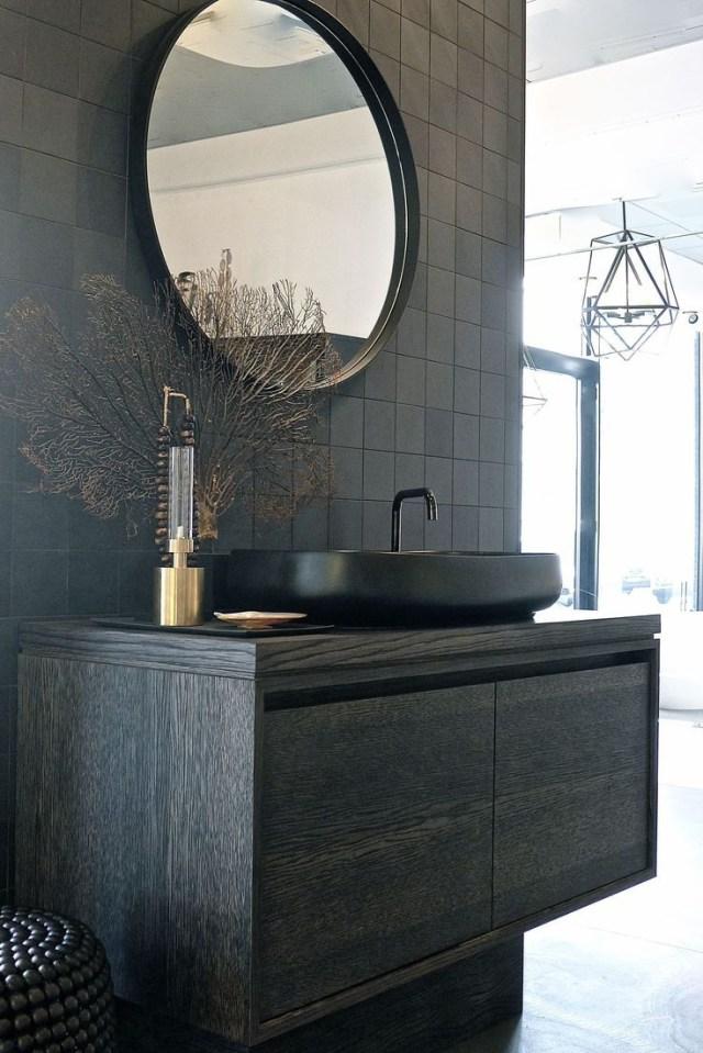 14 Exhilarating Contemporary Bathroom Backsplash Ideas