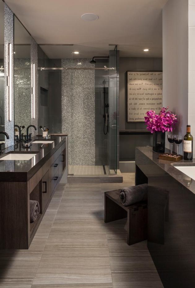 14 Tremendous Contemporary Bathroom Interior Designs To