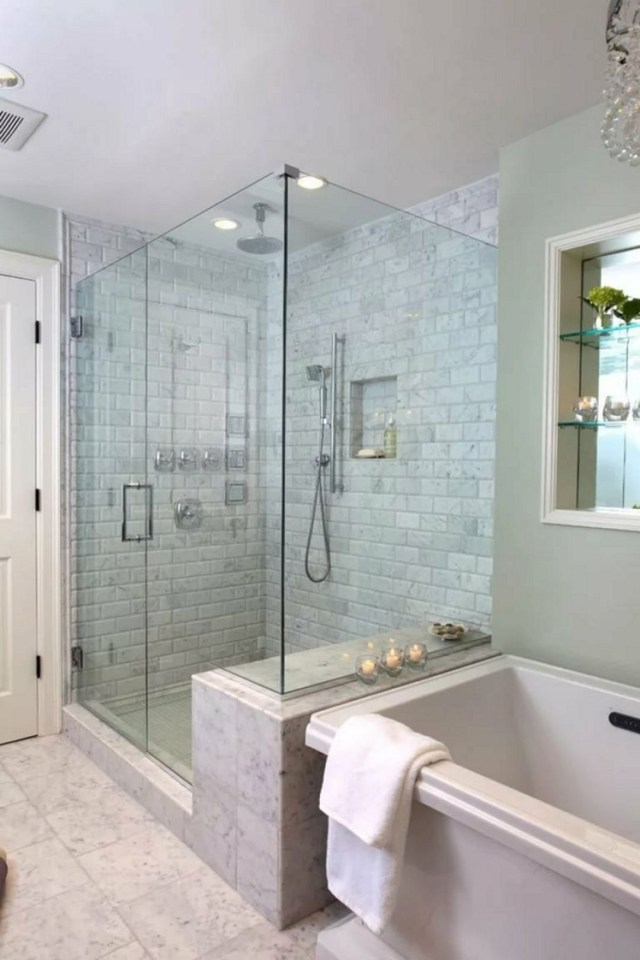15 Gorgeous Bathroom Glass Wall Ideas You Must Try