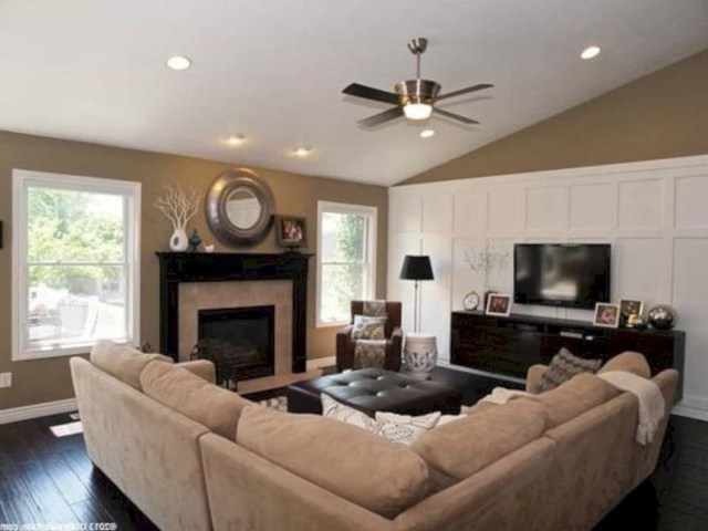 15 Living Room Furniture Layout Ideas With Fireplace To
