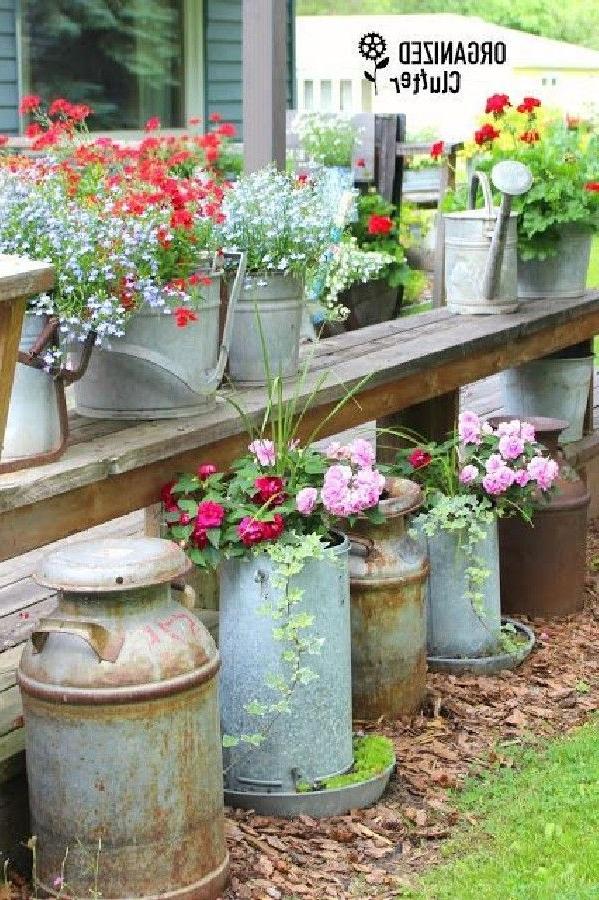 15 Most Brilliant Garden Junk Repurposed Ideas To Create