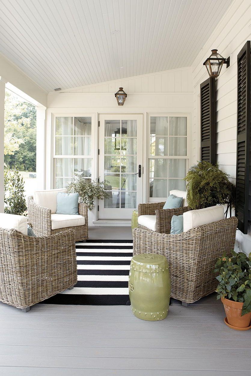 15 Ways To Arrange Your Porch Furniture Porch Furniture