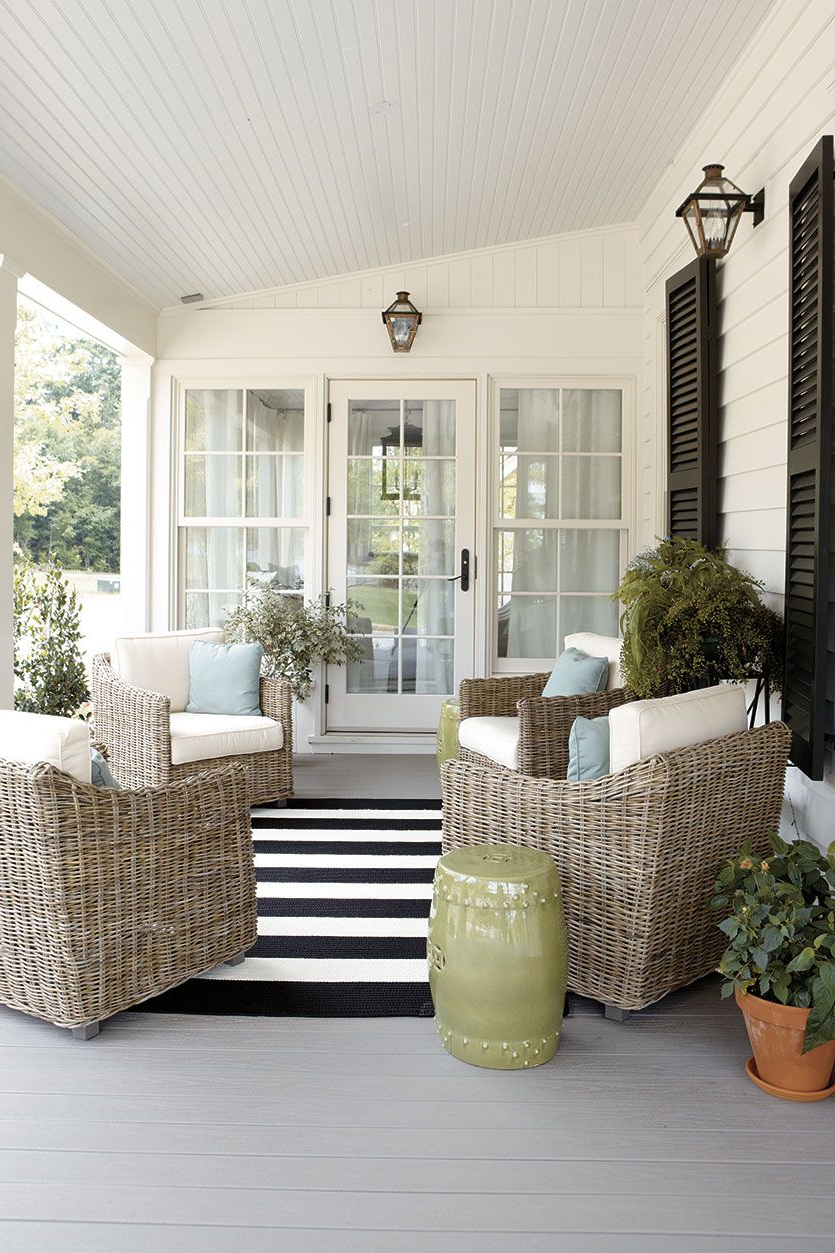 15 Ways To Arrange Your Porch Furniture Porch Furniture