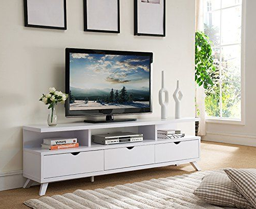 151280wh Smart Home 75 Inch Tv Stand Media Edition 3