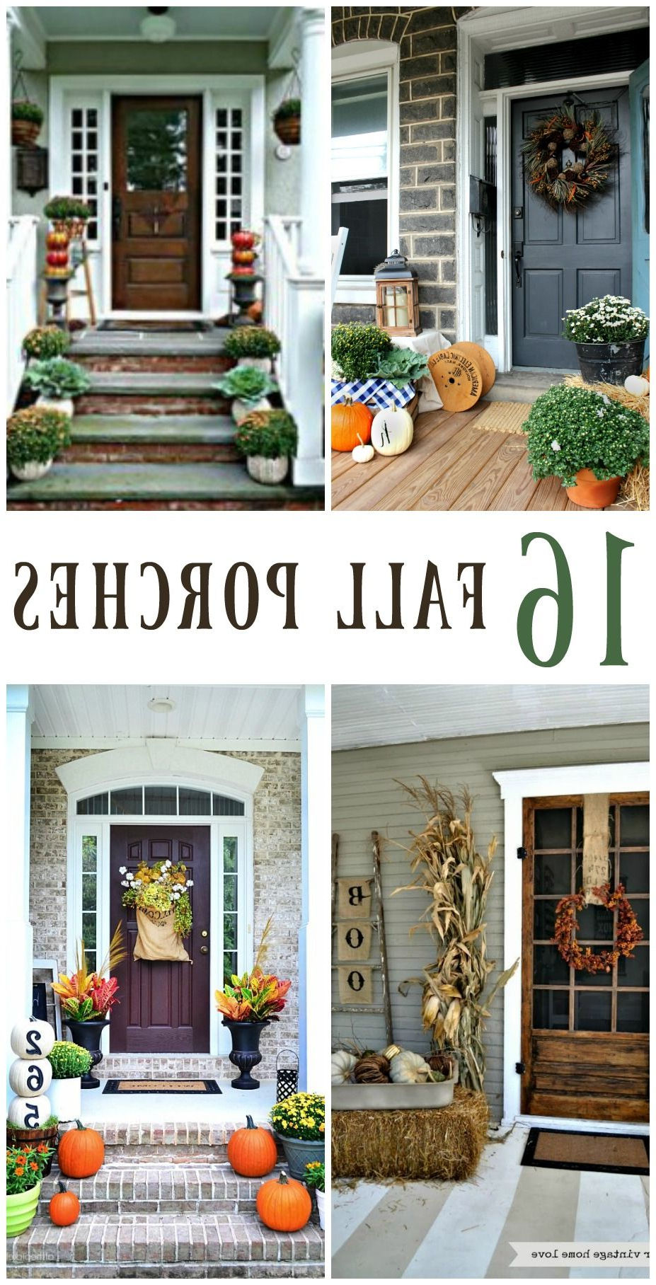 16 Inspiring Fall Porch Decorating Ideas With Images