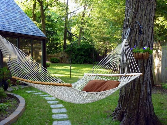 17 Backyard Hammock Ideas Adding Cozy Accent To Outdoor Place