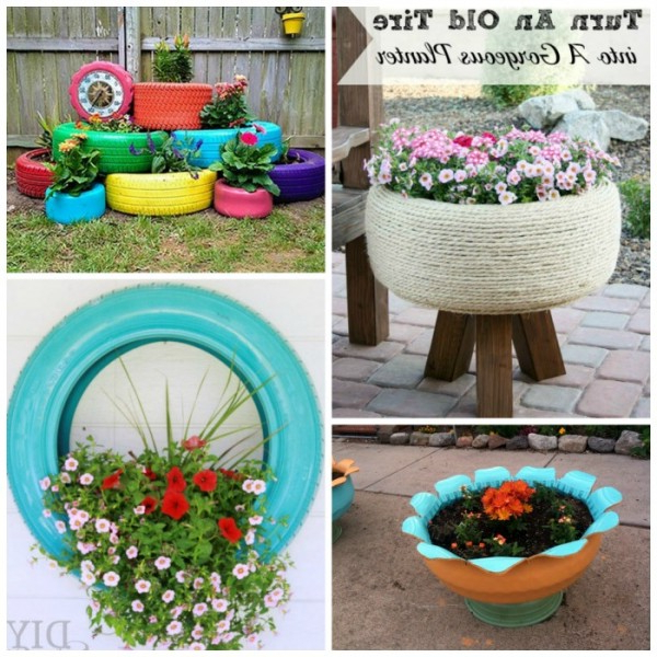 17 Ways To Reuse Tires Red Ted Art Make Crafting