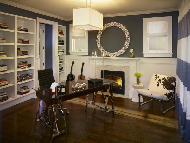 18 Mini Home Office Designs Decorating Ideas Design