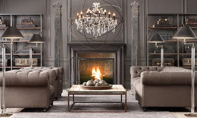 20 Amazing Living Rooms Inspired Restoration Hardware