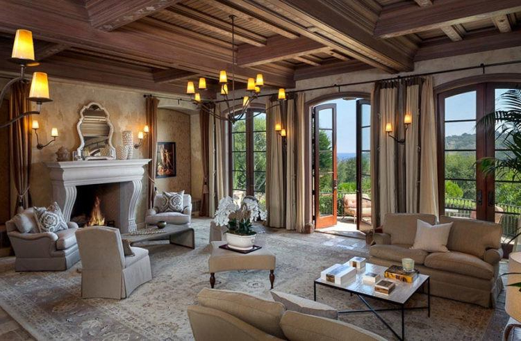 20 Amazing Living Rooms With Tuscan Decor Housely