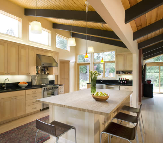 20 Beautiful Mid Century Modern Kitchen Designs Housely
