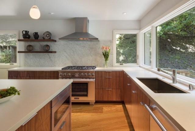 20 Beautiful Mid Century Modern Kitchen Designs Housely
