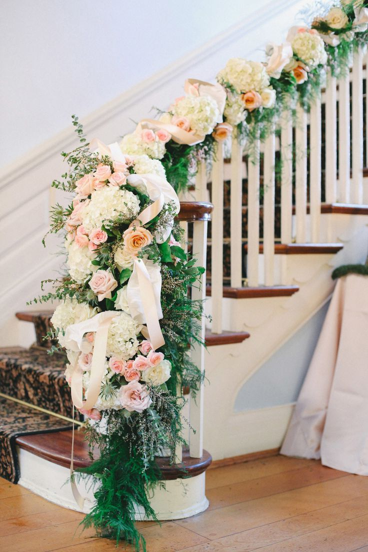 20 Best Staircases Wedding Decoration Ideas Deer Pearl Flowers