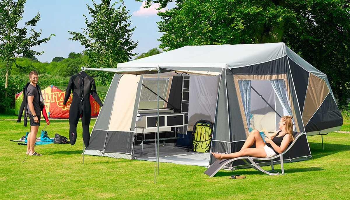 20 Comfortable Family Camp Tent Ideas For Fun Summer