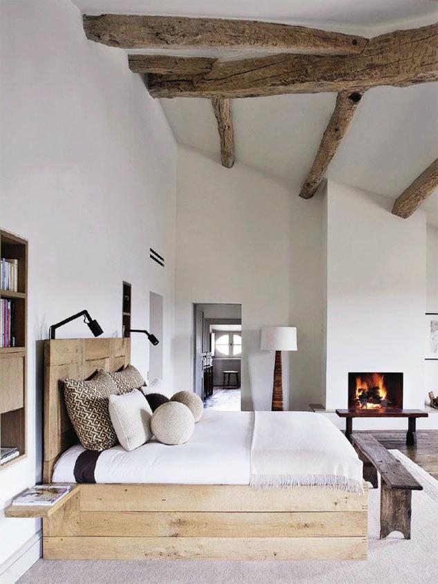 20 Inspiring Modern Rustic Bedroom Retreats Modern