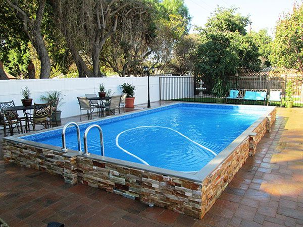 22 Amazing And Unique Above Ground Pool Ideas With Decks