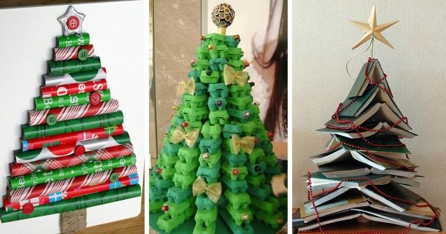 22 Creative Diy Christmas Tree Ideas Bored Panda