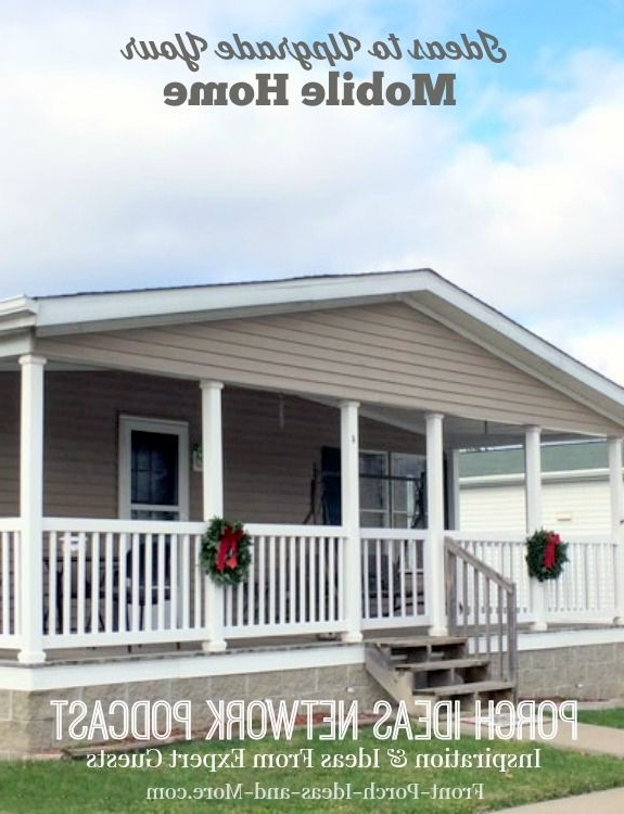 227 Best Mobile Home Porch Designs Images On Pinterest
