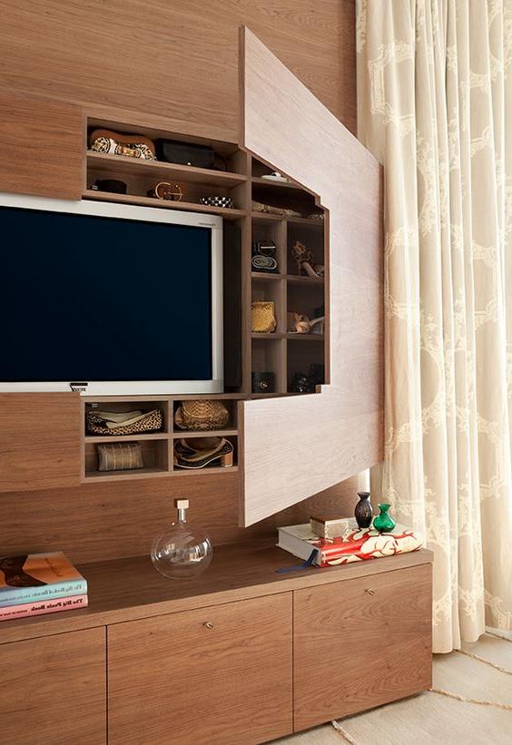 25 Amazing Tv Cabinets Hidden Storage Ideas Decor Units