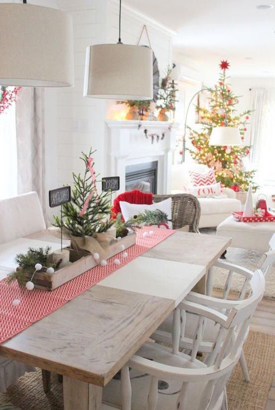 25 Christmas Dining Room Decorations Ideas To Inspire You