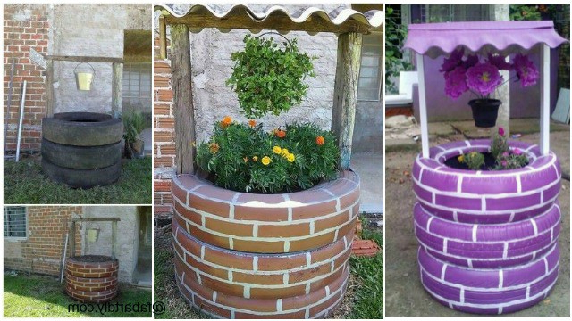 25 Inspiring Tire Planter Ideas To Add To Your Outdoor