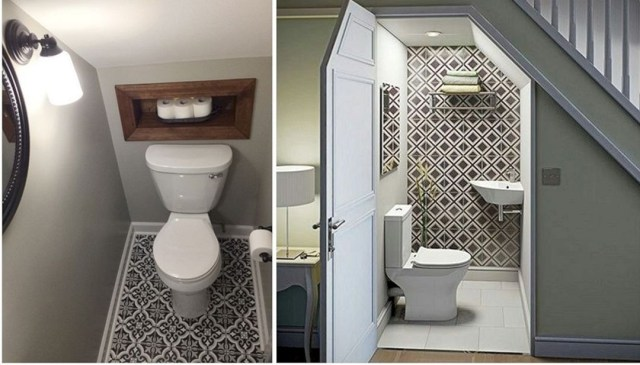 25 Marvelous Bathroom Under The Stairs For Unique Design