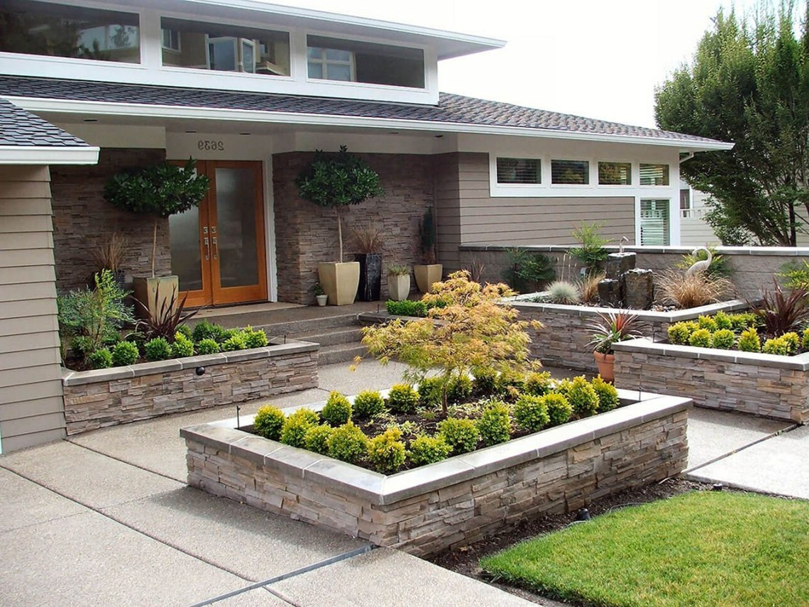 25 Simple Front Yard Landscaping Ideas That You Need To