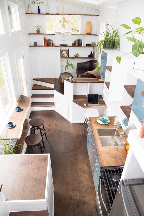 26 Foot Luxury Tiny House With Amazing Interior Renton